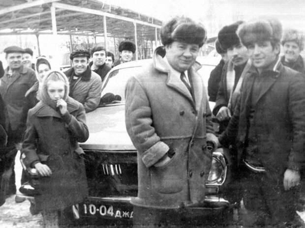 Уникальные фото со съёмок советских фильмов