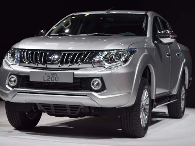 Mitsubishi провела европейский дебют нового пикапа L200