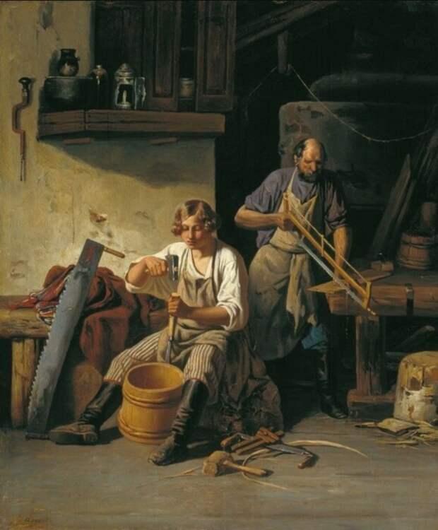 Ремесло наследовалось от отца. /Фото: yarwiki.ru