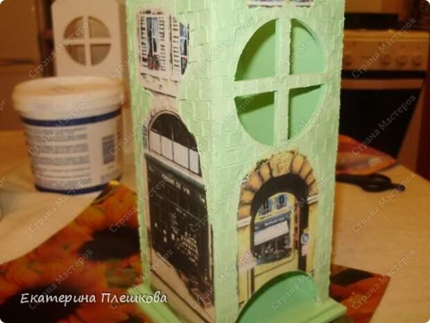 Декор предметов Мастер-класс 8 марта День рождения Декупаж МК Чайного домика Бумага Дерево Крупа фото 21