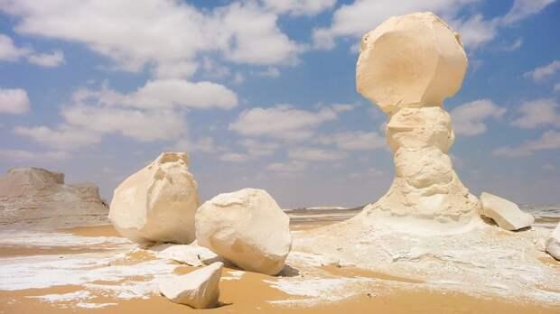 1. Египет. Белая пустыня. (BeeFortyTwo) земля, природа