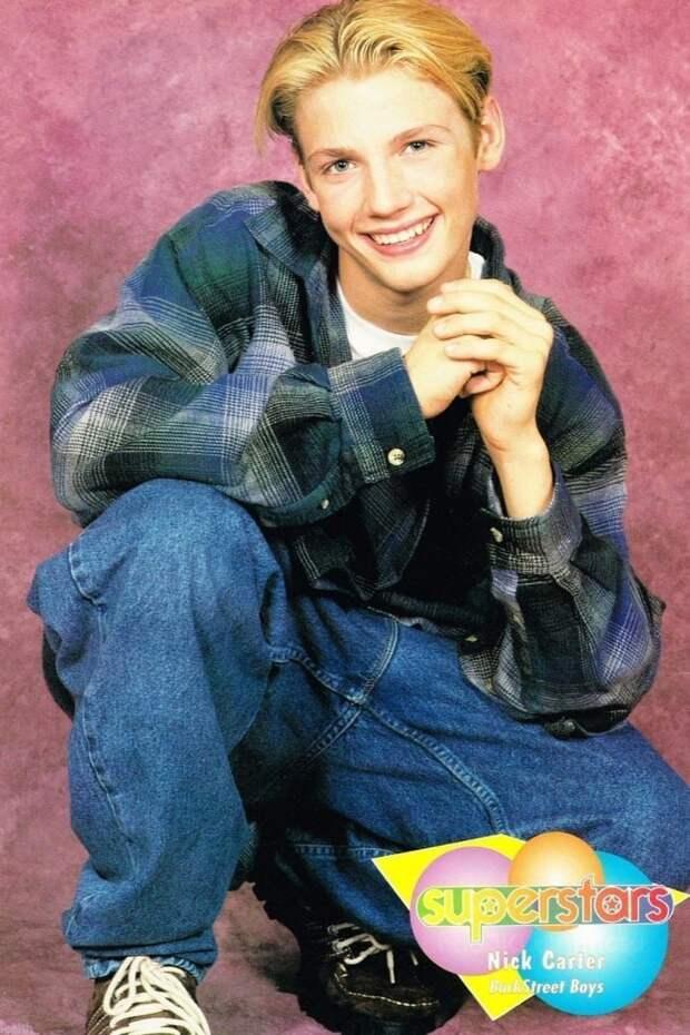 14. Ник Картер 90-е, Популярность, актеры, звезды, парни, певцы, топ, фото