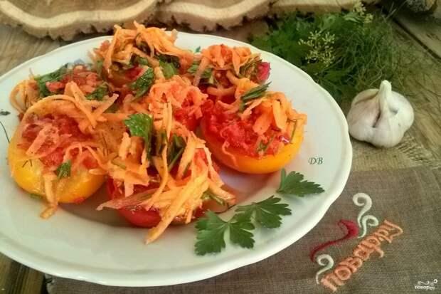 Помидоры с морковкой