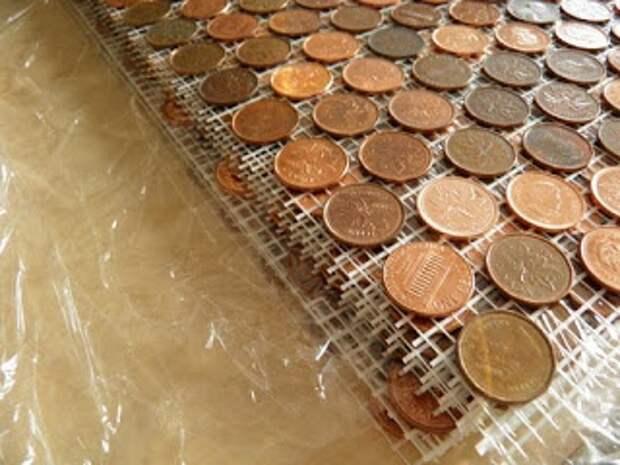 Стена из монет (Diy+подборка)