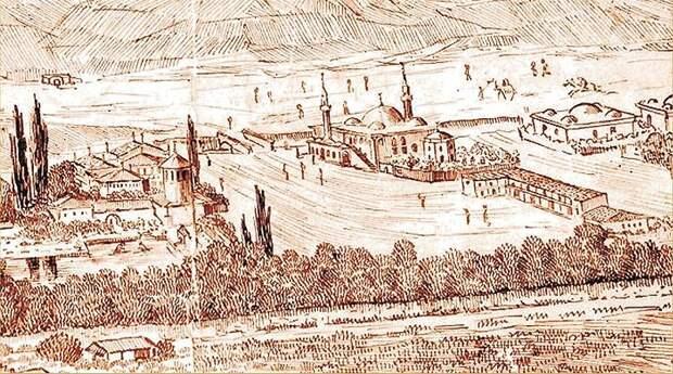 File:Общий вид Бахчисарая XVII века.jpg