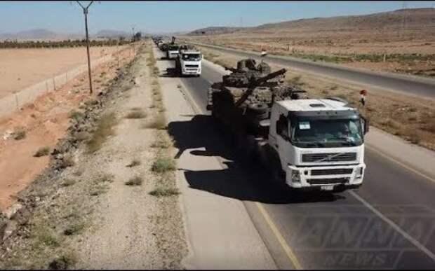 Наступление сирийских войск вюжной провинции Дераа активизировалось