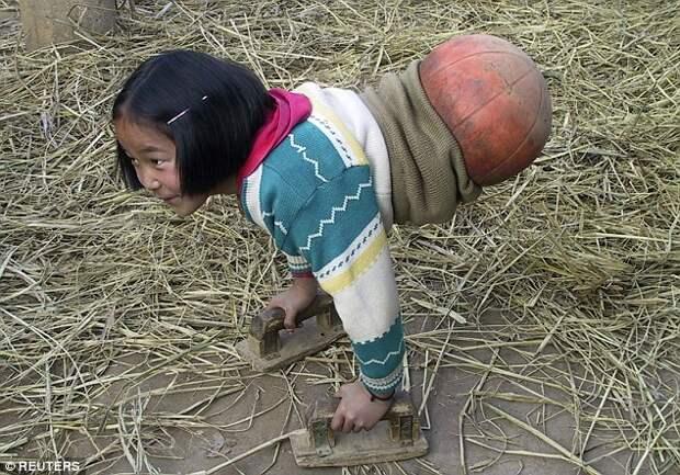 Девушка без ног