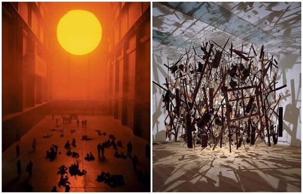 10 странных и неординарных инсталляций, которые бурно обсуждаются до сих пор