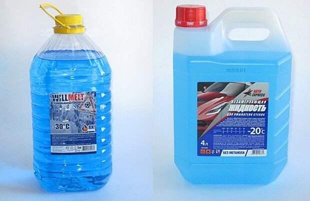 Жидкости «Autoexpress -20» и «WillMelt -30» не только вредны для поликарбонатных фар, они еще и не соответствуют заявленной температуре замерзания