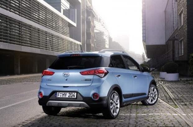 Hyundai рассекретил «почти вседорожный» i20 Active