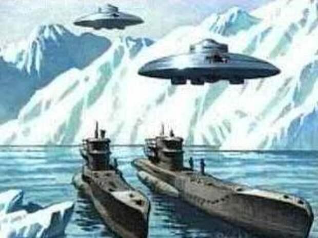 фантастическая интерпретация Третьего Рейха в Антарктиде