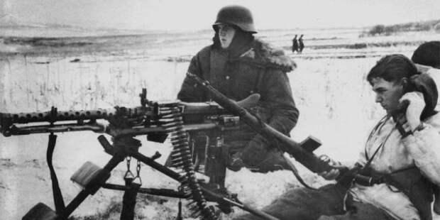 Как проспать свой пулемёт: советские разведчики против вермахта