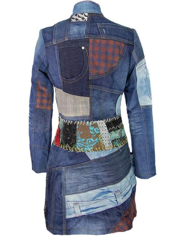 Платья из джинсов