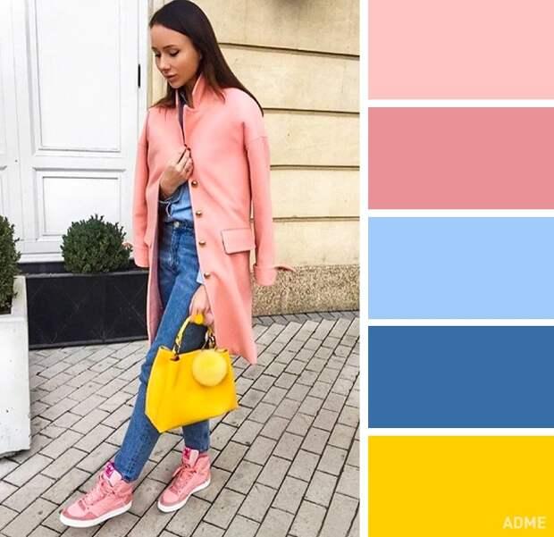 Цветовые сочетания в одежде для весеннего настроения