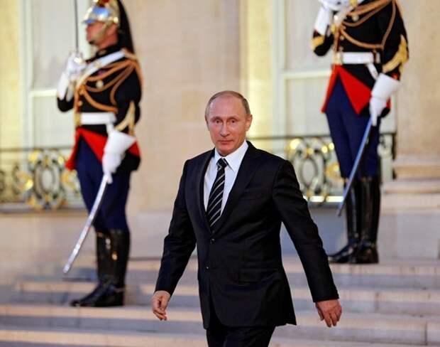 """Неслыханный Путин. Лучшие фото с """"нормандской"""" встречи"""