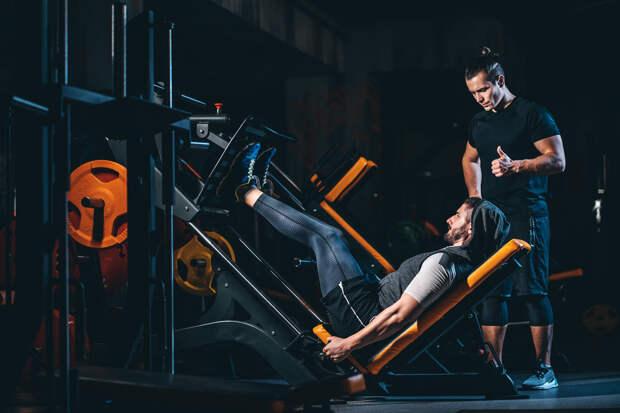 Тренировка ног —тренажёры или свободные веса?