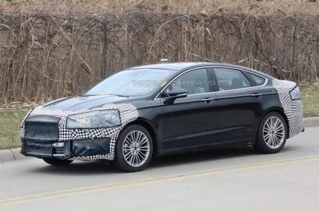 В США замечен обновленный седан Форд Мондео