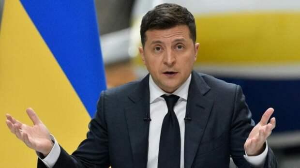 Зеленский заявил, что вопрос освобождения Донбасса от Укры может быть вынесен на референдум