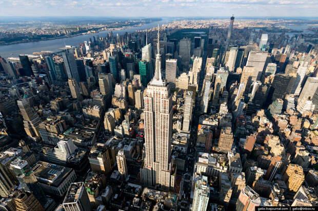 Нью-Йорк с высоты птичьего полета. / Фото: www.mignews.com.ua