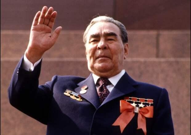 Генсек ЦК КПСС Леонид Брежнев