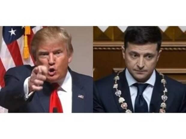 Украина-2020: Трамп взбадривает Зеленского в борьбе с Байденом