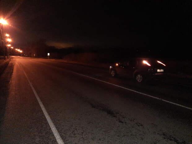 Ночью в Удмуртии водитель легковушки насмерть сбил пешехода