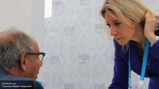 Красавица выпустила коготки: немецкие СМИ в восторге от критики Захаровой