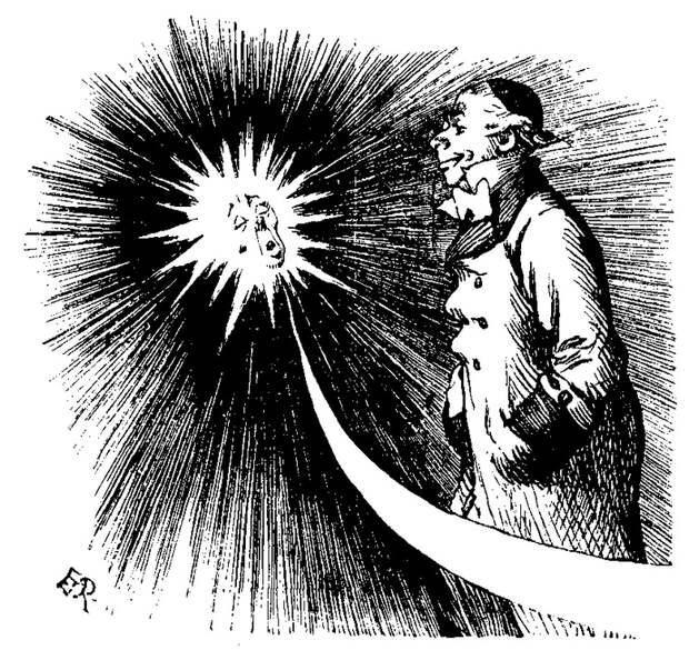 Открытая британским астрономом в 19-м веке комета скорее всего была НЛО