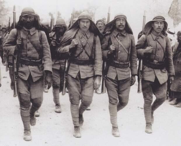 Турецкая армия. 1914 г.