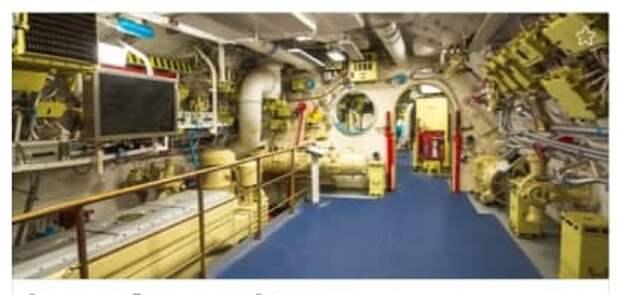 23 февраля в подводной лодке в Северном Тушине для мужчин пройдет бесплатная экскурсия
