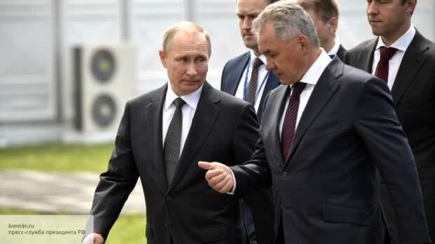 В США оценили подарок Шойгу на день рождения Путина