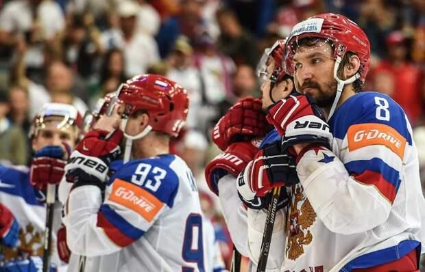 Сборную России по хоккею, вернувшуюся с ЧМ, не встречал в аэропорту ни один болельщик
