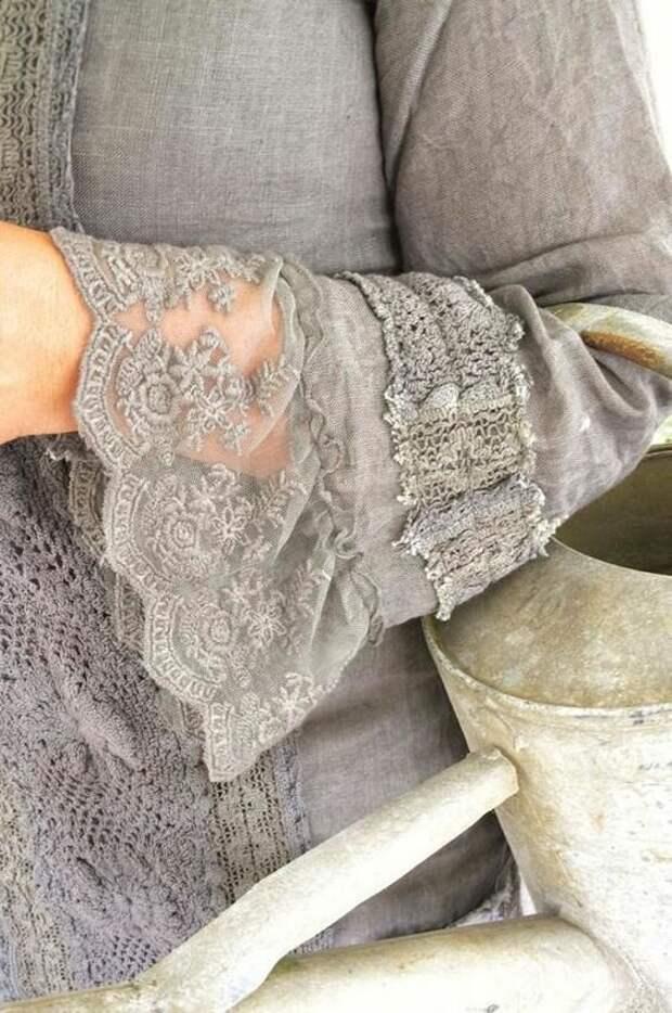 Как кружевные вставки могут преобразить Вашу одежду! Идеи и примеры для вдохновения!