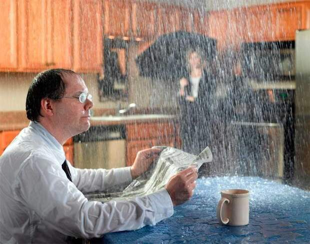 Дождь в квартире