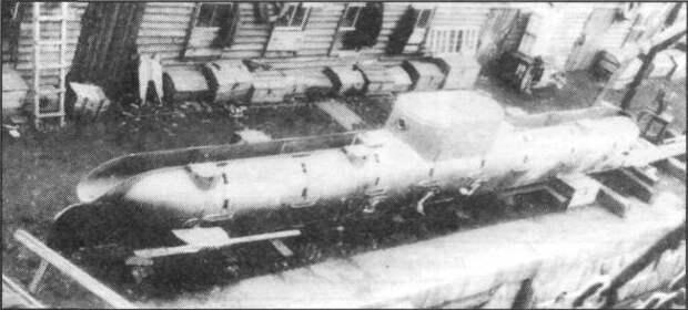 Проект подводного миноносца Е.В. Колбасьева («Матрос Петр Кошка»)