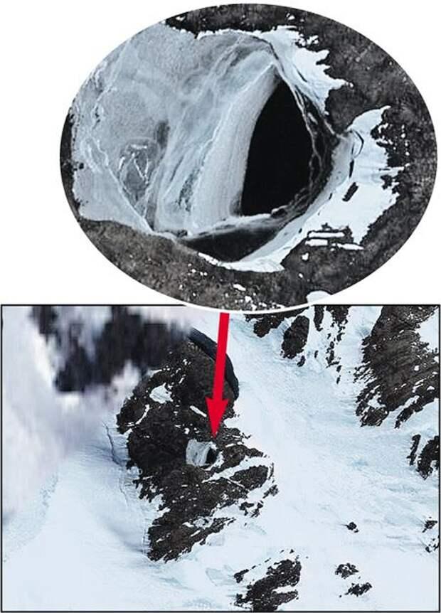 В Антарктиде нашли ход в подземный мир