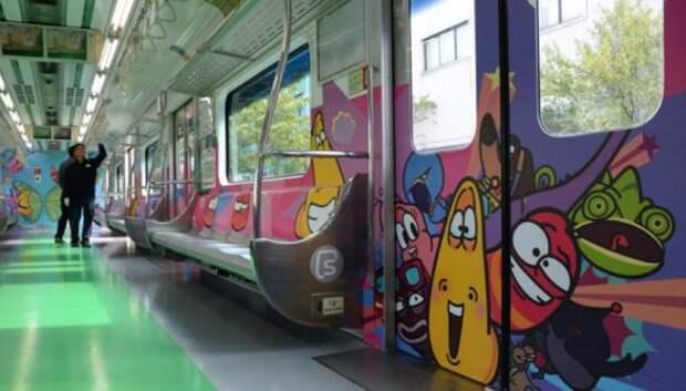 От Сеула до Тегерана: как выглядят вагоны метро в разных странах мира