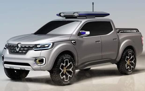 Пикап Renault выйдет на рынок уже в этом году