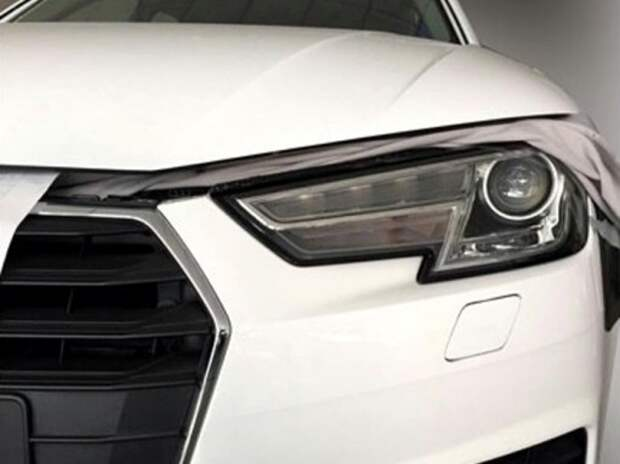 Новый Audi A4 впервые попался без камуфляжа