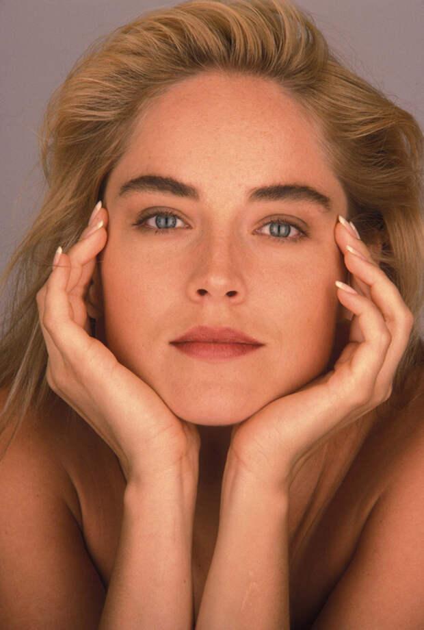Шэрон Стоун (Sharon Stone) в фотосессии Яна Майлза (Ian Miles) (1990), фото 7