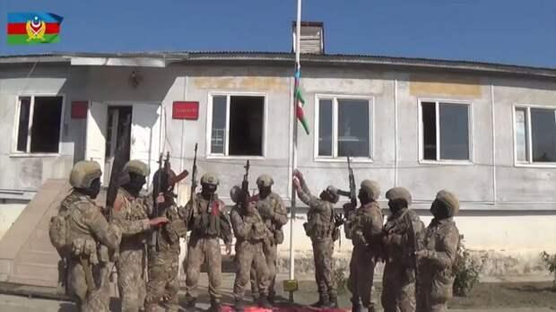 Азербайджан ночью захватил всю восточную часть Нагорного Карабаха