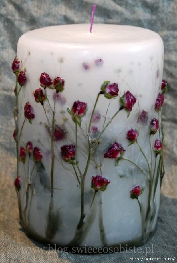 цветочные свечи ручной работы (70) (471x700, 228Kb)