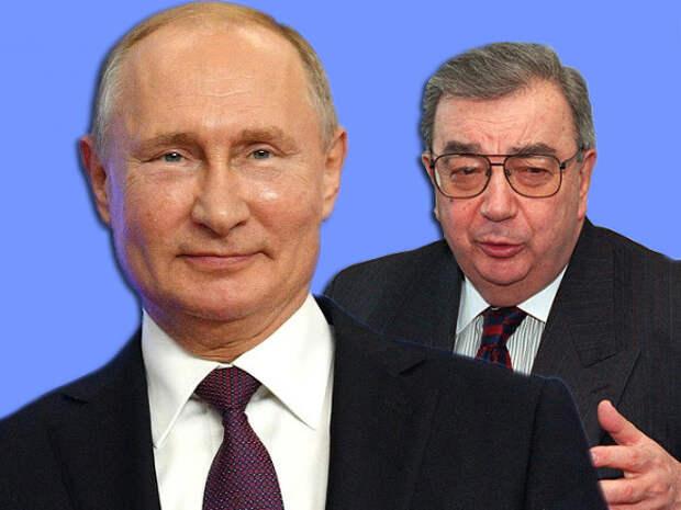 Светлый Путин и бронзовый Примаков