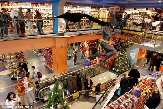 Магазин игрушек Hamleys