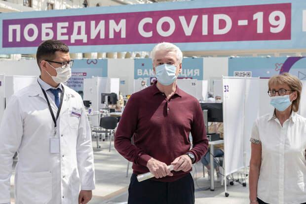 Собянин заявил об эффективности вакцины против «дельта»-штамма COVID