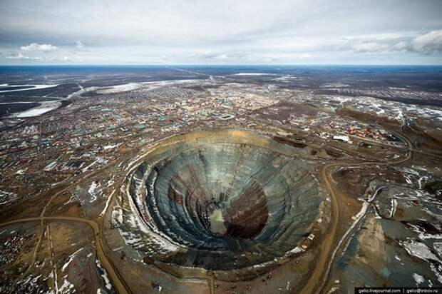Mirny town - the diamond capital of Russia, photo 4