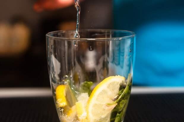 Огуречно-базиликовый лимонад