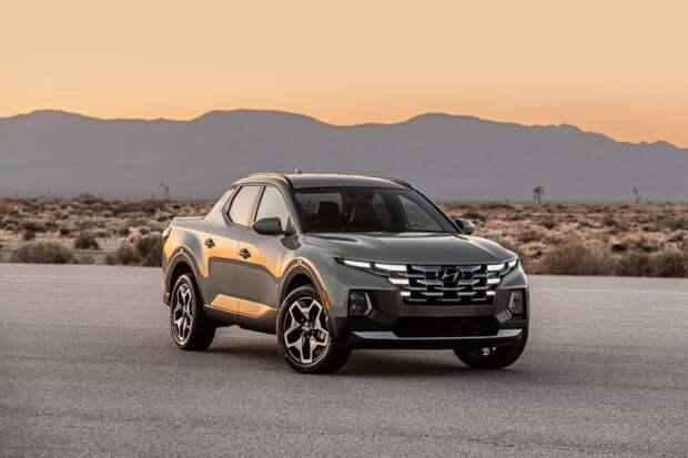 Пикап Hyundai Santa Cruz рассекречен официально