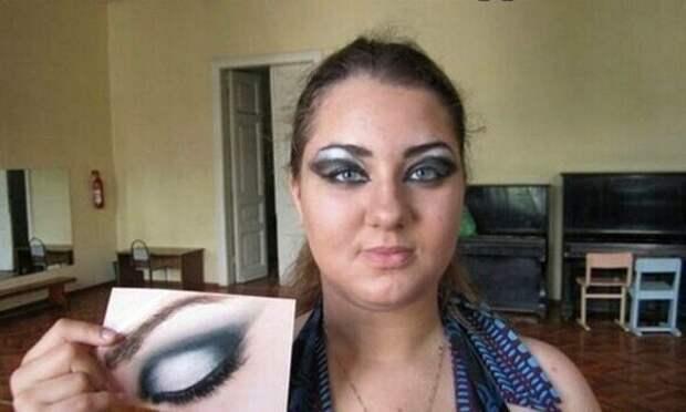 2. Порой, чтобы получился естественный макияж с легкой текстурой, девушки могут провести у зеркала около часа