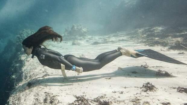Подводные фотографии фридайвера Софии Гомес Урибе